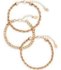 women's 8 other reasons bianka 3-pack bracelets