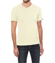 men's big and tall basic henley neck short sleeve t-shirt