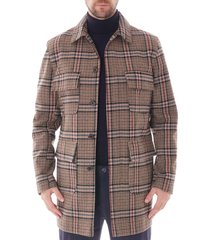 none of the above mac jacket |stone| notamac-s