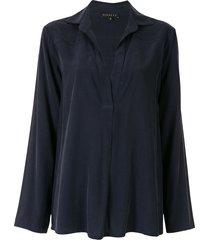 alcaçuz akahana viscose blouse - blue