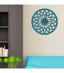 relógio de parede decorativo premium mandala vazado ágata médio