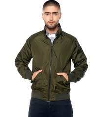 chaqueta doble faz azul navy-verde tommy hilfiger