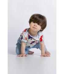 pijama e camisola acuo pijama e camisola bege - bege - dafiti