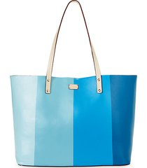 trixie colorblock tote bag