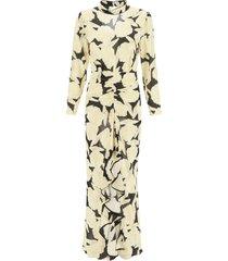 rixo dani shell print dress