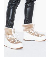 moonboots mb monaco low fur wp 2 flat boots