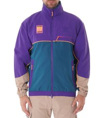 adiplore zip-through track top - multi fr0593