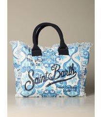 mc2 saint barth handbag mc2 saint barth vanity shopping bag in canvas
