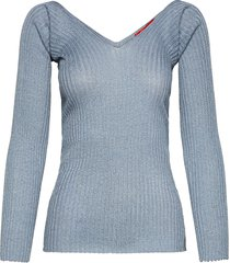 procida t-shirts & tops knitted t-shirts/tops blå max&co.