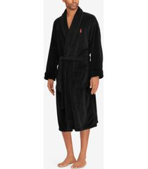 polo ralph lauren men's shawl-collar robe