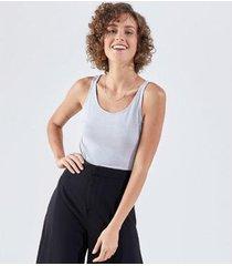 camiseta liz easywear regata feminina - feminino