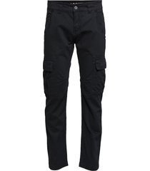 agent pant trousers cargo pants svart alpha industries