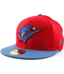 new era clearwater threshers milb 59fifty cap