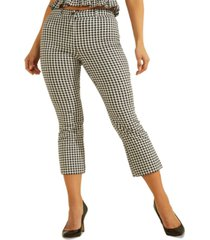 guess steph gingham pants