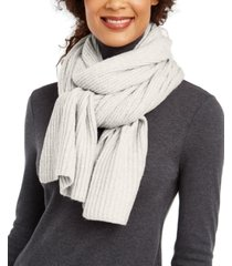 inc twisted rib muffler scarf, created for macy's