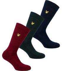 mens hamilton 3 pack sport socks