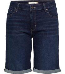 pl classic bermuda short dark bermudashorts shorts blauw levi's plus
