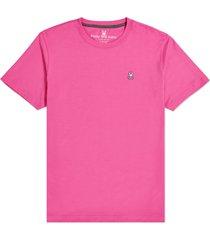 men's psycho bunny men's classic crewneck t-shirt, size 9 - pink