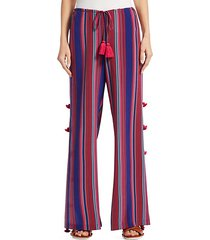 ipanema stripe silk pants