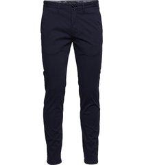 chino pants chinos byxor blå marc o'polo