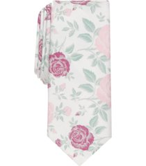 bar iii men's lucas floral slim tie, created for macy's