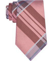 kenneth cole reaction men's plaid tie