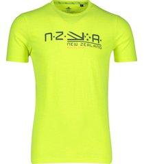 t-shirt neon geel new zealand waitaha