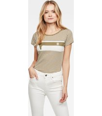 litmic yarn dyed stripe gr one slim top