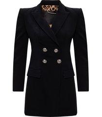 dress with notch lapels