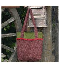 cotton tote bag, 'cinnammon versatility' (thailand)