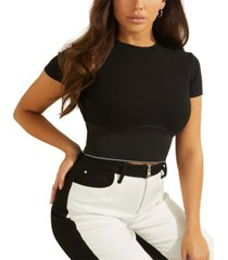 guess cyntia crop top