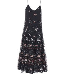 tory burch embroidery dress