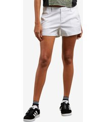 volcom juniors' frochickie low-rise shorts