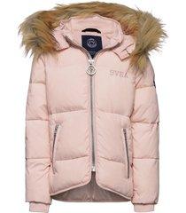 k. short slim jacket gevoerd jack roze svea