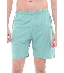 pijama algodão mechler short verde