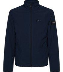 chaqueta crinkle nylon blouson jacket calvin klein
