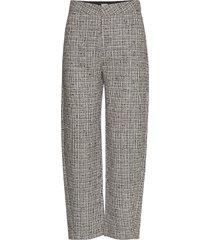 novara pantalon met rechte pijpen grijs totême