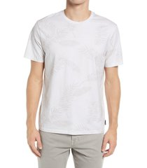 men's ag bryce slim fit graphic tee, size large - white
