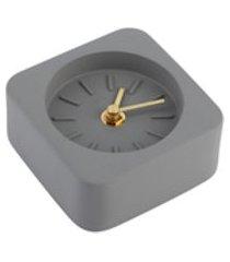 pilhas práticas não incluídas decoração doméstica quadrada, relógios de mesa, simples para escritório doméstico