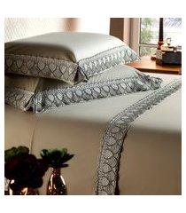 jogo de cama solteiro plumasul cardiff deep beauty 3 peças