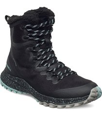 bravada polar wp/black shoes boots ankle boots ankle boot - flat svart merrell