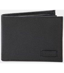 billetera de cuero para hombre grabada