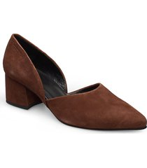 mya shoes heels pumps classic brun vagabond