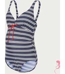 mamalicious zwangerschapsbadpak / positiebadpak josefine striped