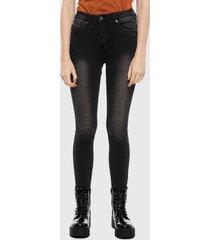 jeans ellus skinny negro - calce ajustado