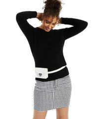charter club crew-neck cashmere sweater, created for macy's