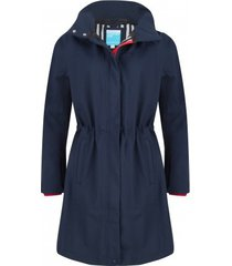 happyrainydays regenjas softshell comfort coat nelly navy-s