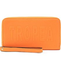 billetera naranja tropea fiona