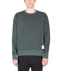 thom browne crew neck sweatshirt