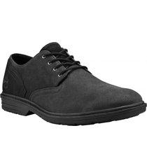 zapato  sawyer lane oxford negro timberland